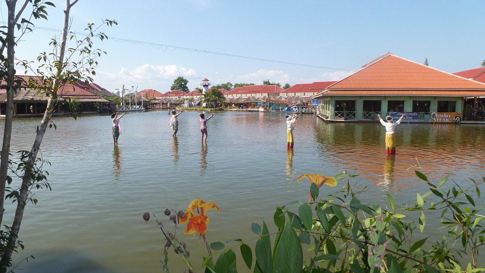 Floating market in Hua Hin