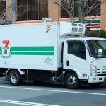 7-Eleven ISUZU ELF truck