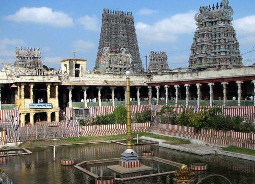 Temple de Mînâkshî, India