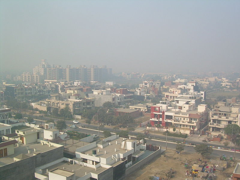 Air pollution in New Delhi