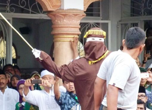 Banda Aceh caning, Indonesia