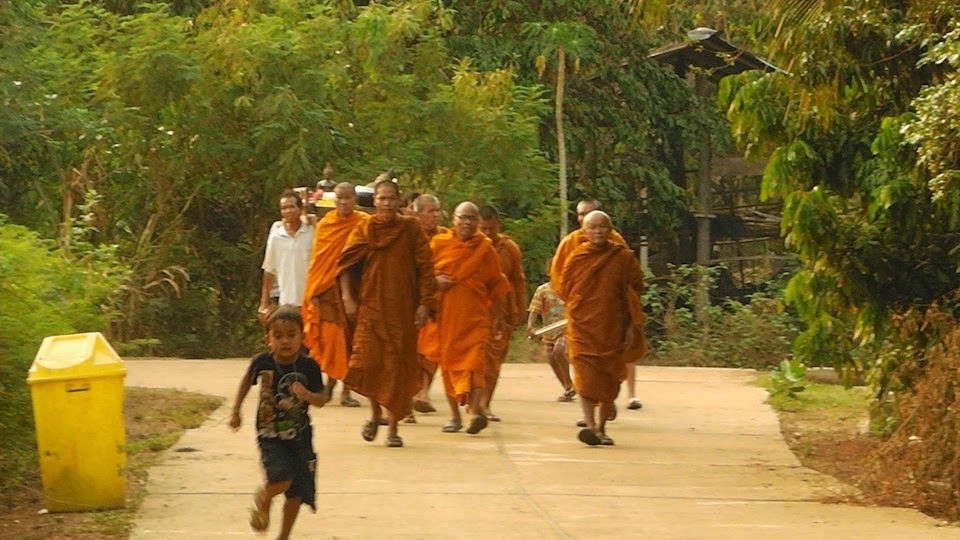 Isan Buddhist Monks