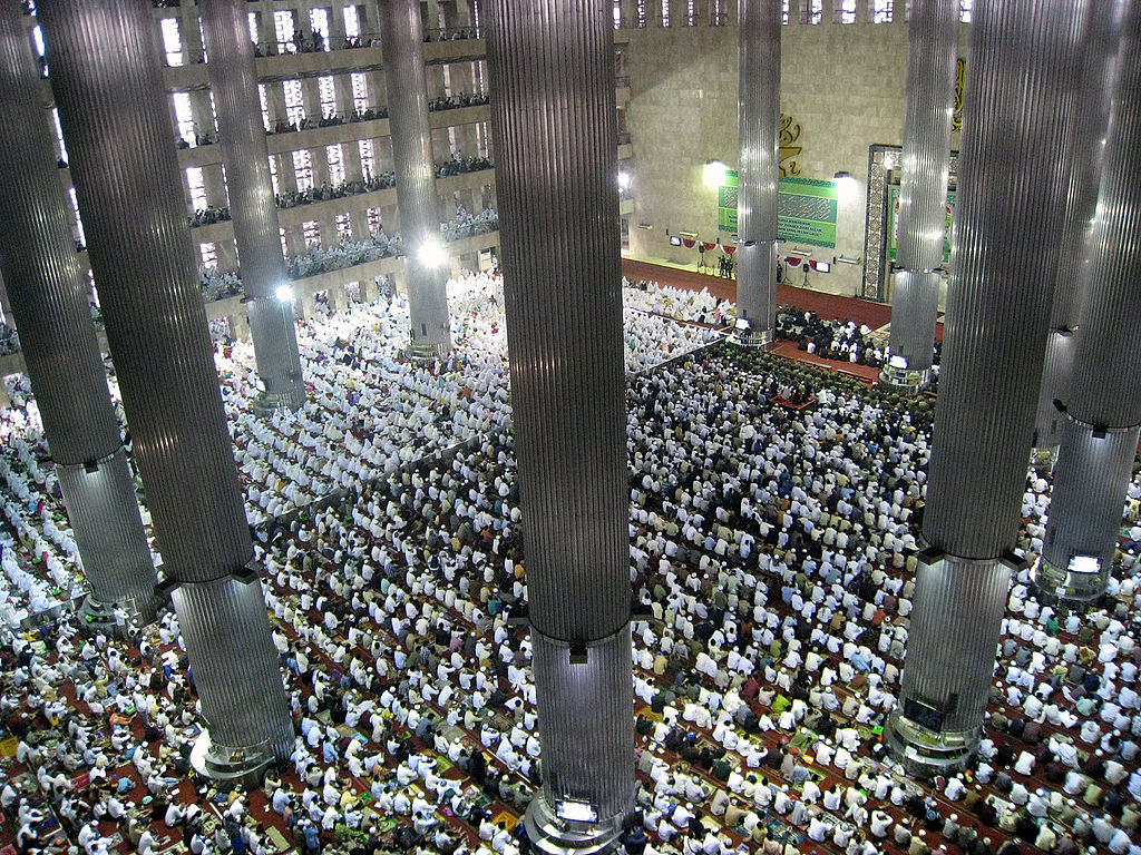 Istiqlal Mosque in Jakarta, Indonesia
