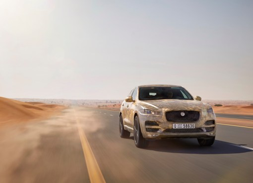 The Jaguar F-PACE has been tested to the limit in some of the most inhospitable environments on earth