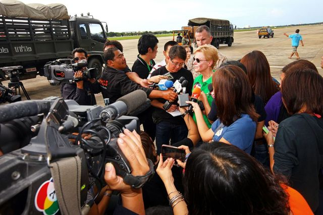 Thailand's press freedom ranking rose two spots to 140