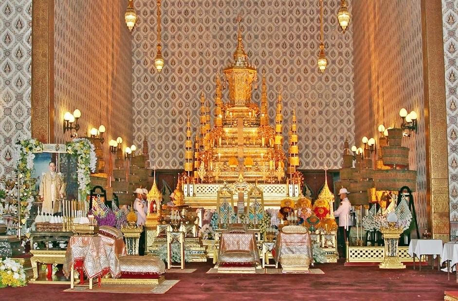 HM King Bhumibol Adulyadej golden urn