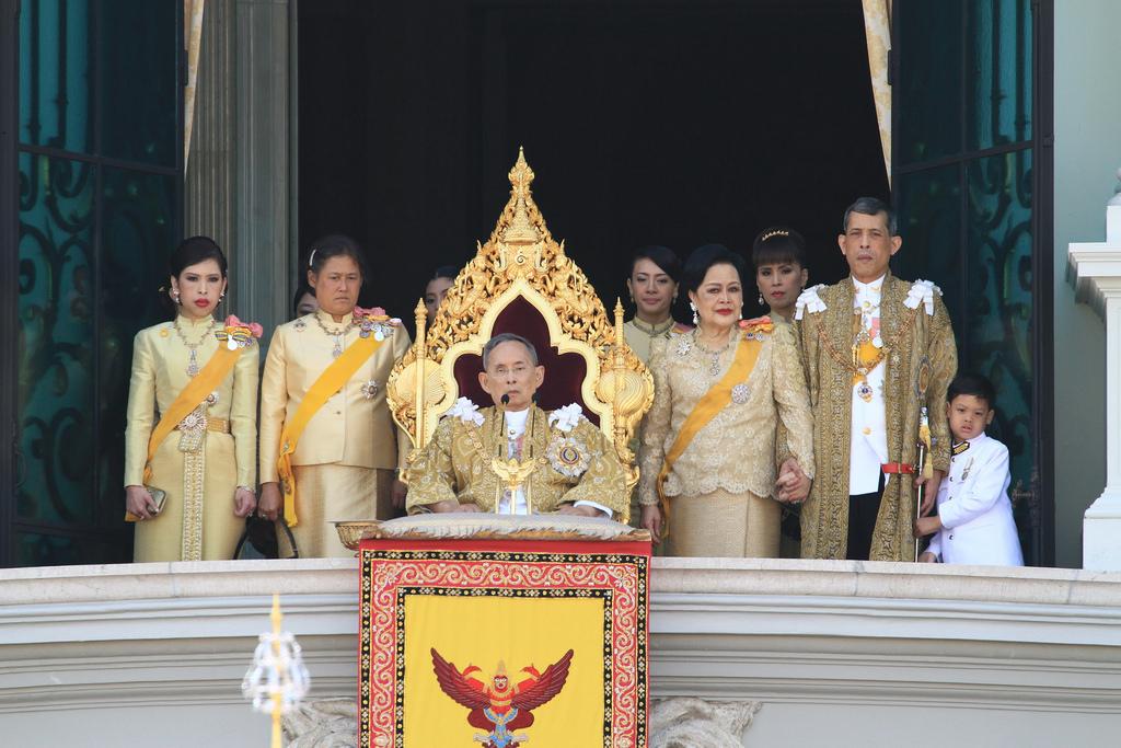 HM Bhumibol Adulyadej (Rama IX) on December 5, 2011