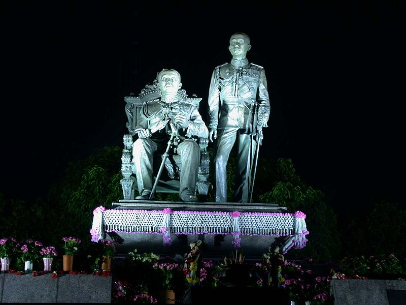 King Chulalongkorn and King Vajiravudh Memorial, Bangkok