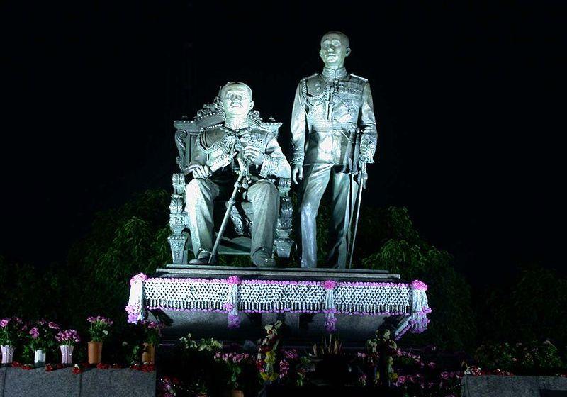 Thais commemorate King Chulalongkorn Memorial Day