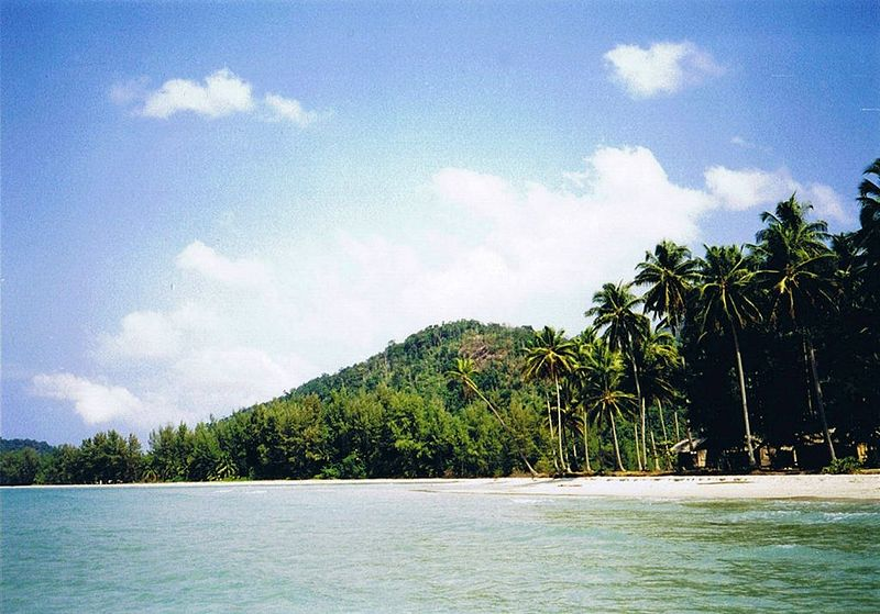 Koh Chang island in Thailand.