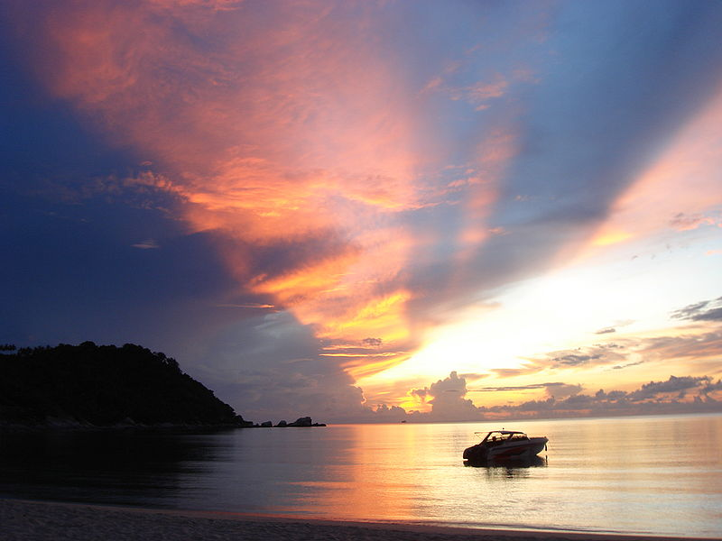 Sunrise at Thong Nai Pan, Ko Phangan