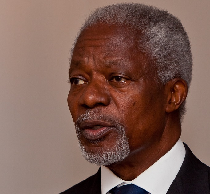 Kofi Atta Annan was a Ghanaian diplomat who served as the seventh Secretary-General of the United Nations