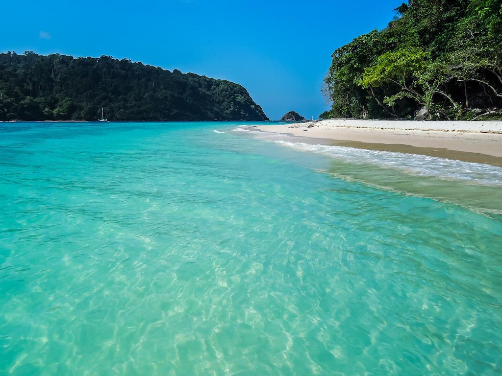 Beach on Koh Rok Yai, Koh Lanta