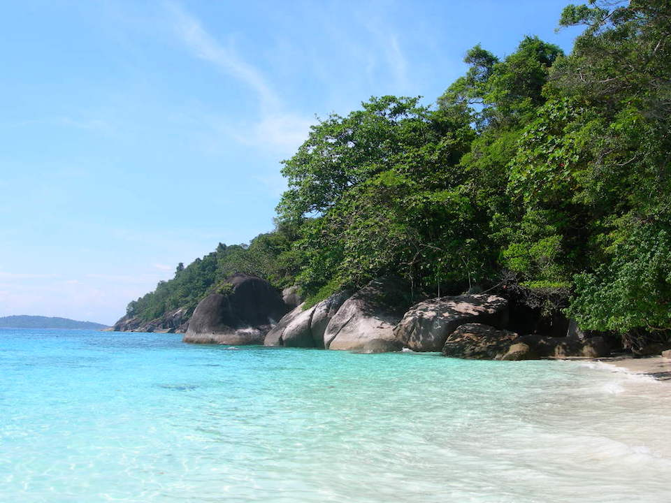 Koh Tachai, Similan Islands
