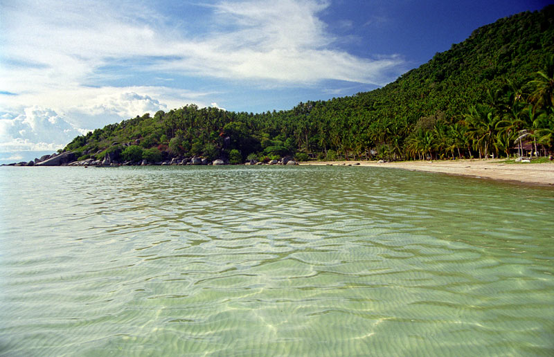 Sairee-Beach in Koh Tao