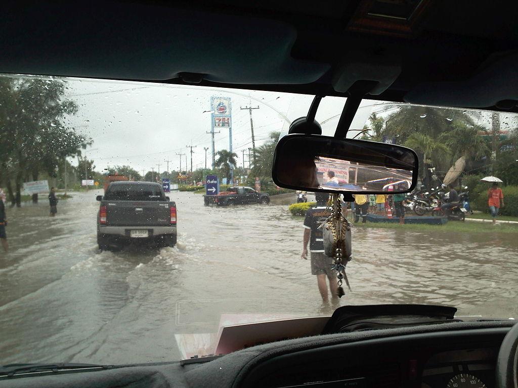 Flood in Chakkarat District, Kora