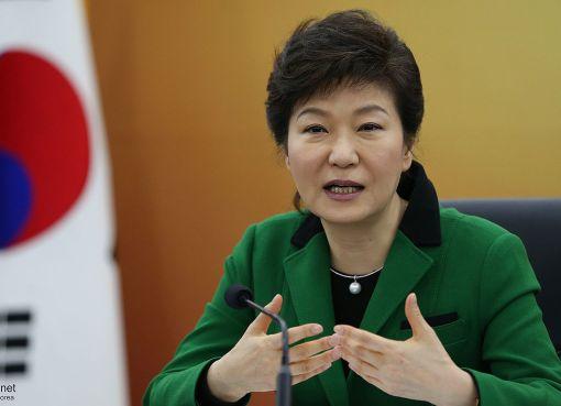 Korean President Park Geun-hye
