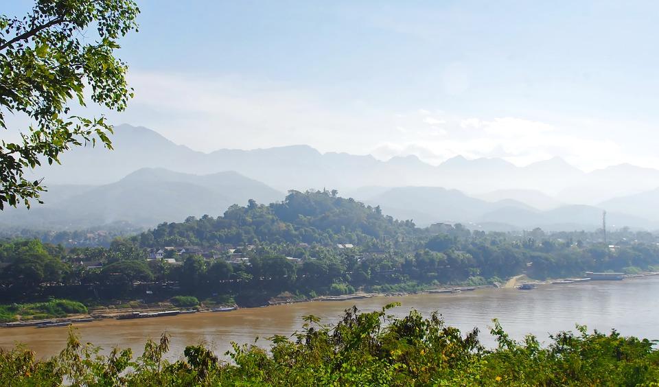 Luang Prabang Damp in Laos