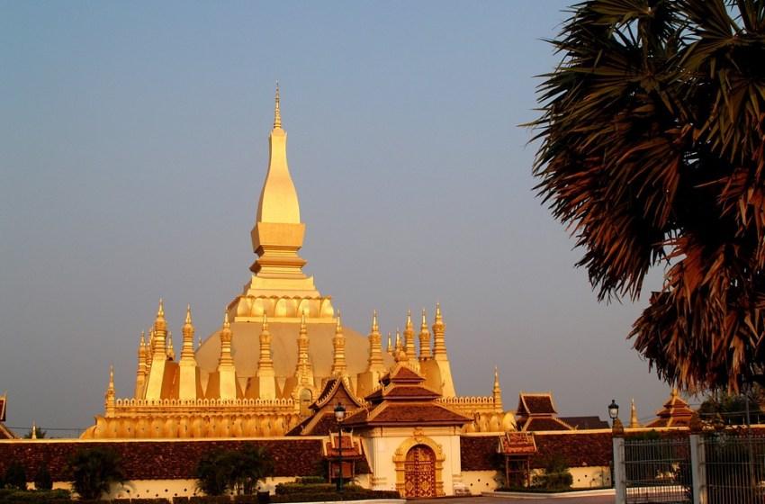 Golden Pagoda in Laos