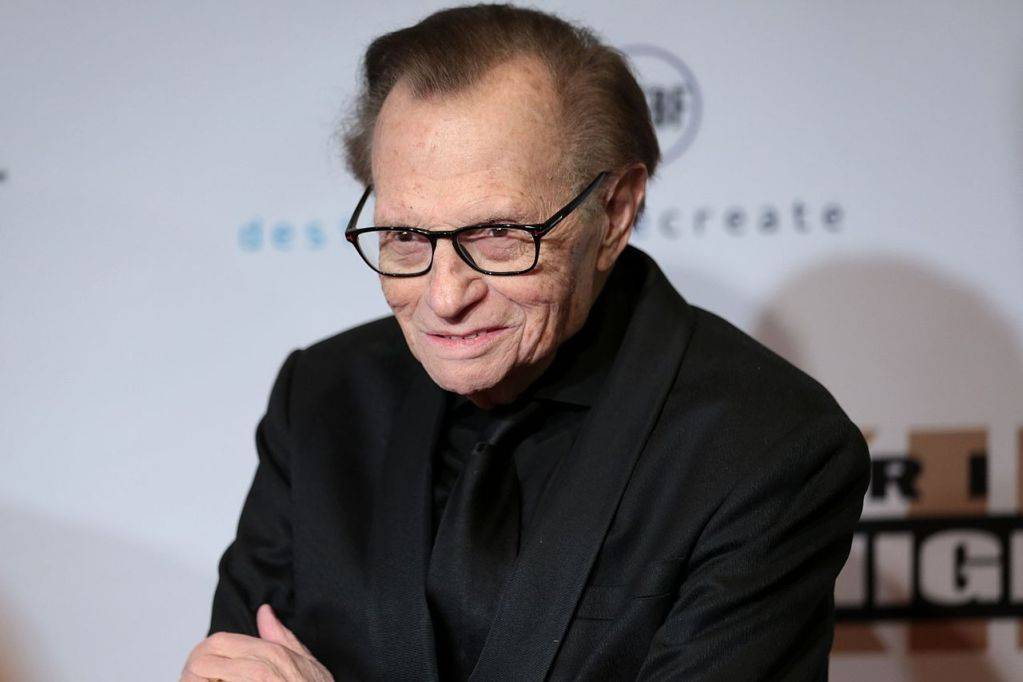 Legendary interviewer Larry King