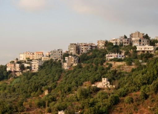 Aley city in Lebanon