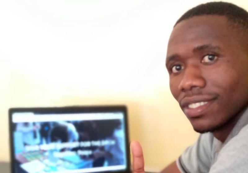 Mr. Mainza M Hiyamwa, Chairperson of Chosen Generation Youth Club Solwezi (CGYC) of Zambia