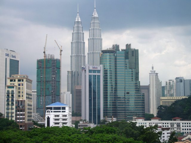 KLCC Park Seen From Pertama