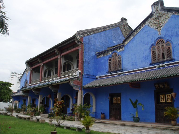 The Cheong Fatt Tze Mansion in Penang, Malaysia