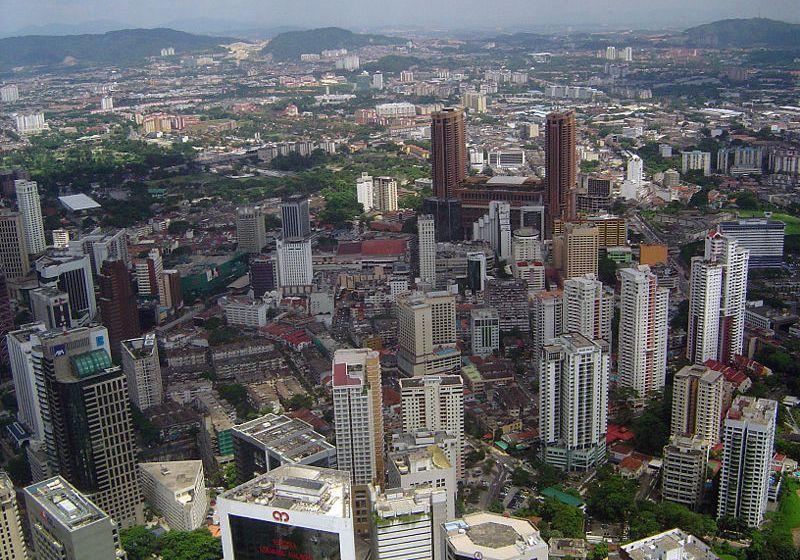 Skyscrapers in Kuala Lumpur, Malaysia