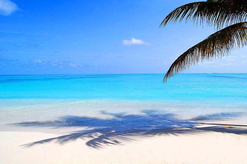 Maldives islands beach