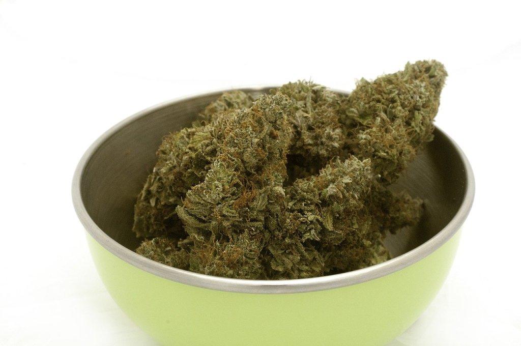 Cannabis-Marijuana food