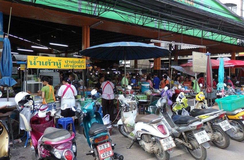 Nai Wiang Market in Nan