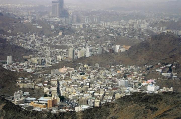 Mecca viewed from Jabal Nur