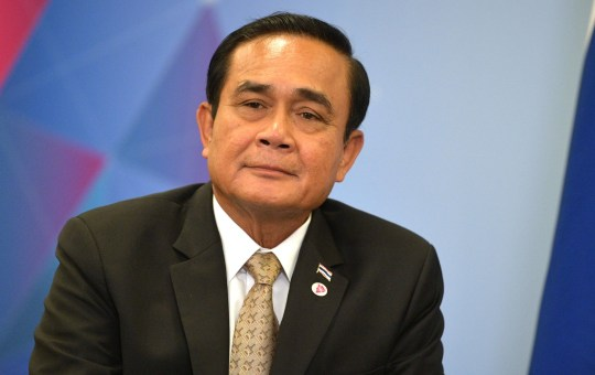 Prime Minister of Thailand Prayut Chan-o-cha in Russia