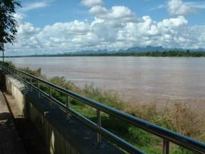The Mekong River in Nakhon Phanom