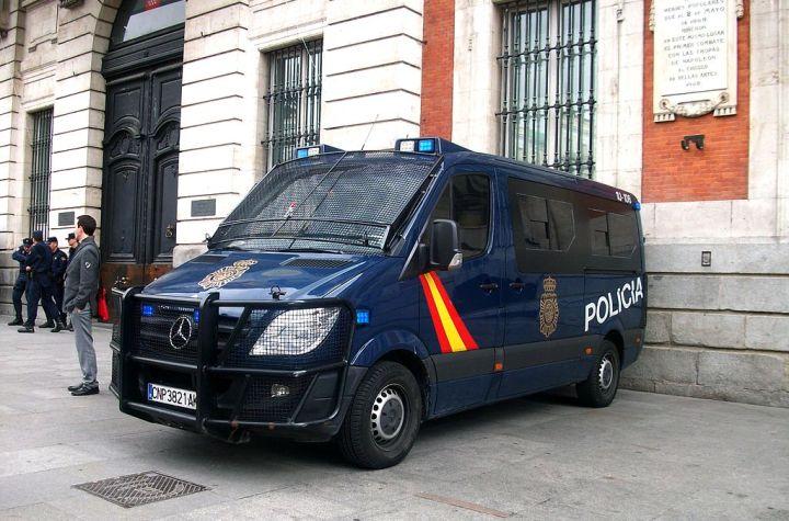 Vehicle of the Policía Nacional