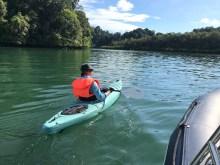 Kayaking in Mergui archipelago