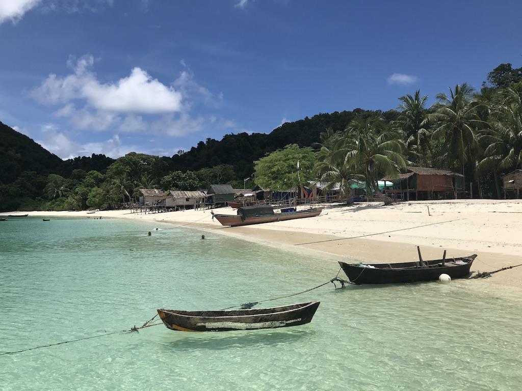 Beach resort in Mergui archipelago