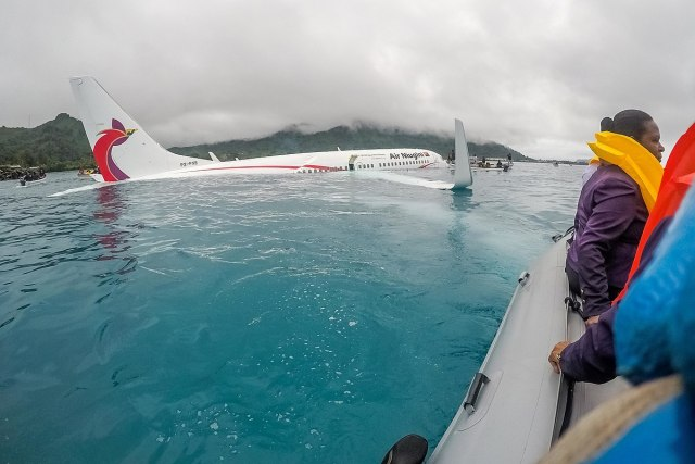 Airplane crashes into ocean in Micronesia
