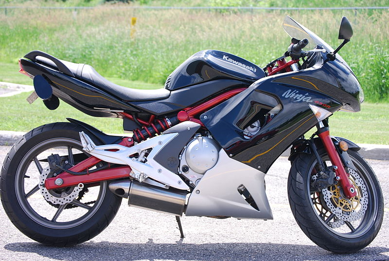 Kawasaki Ninja 650R motorbike