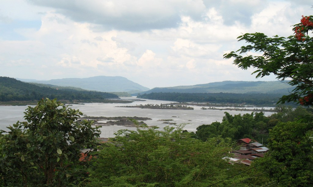 The Mun River Mouth in Ubon Ratchathani