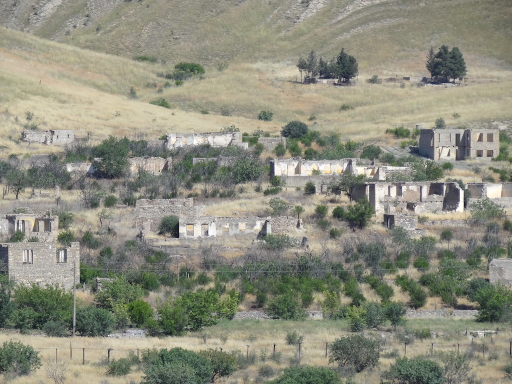 Destroyed Azari Village in Nagorno-Karabakh-Azerbaijan