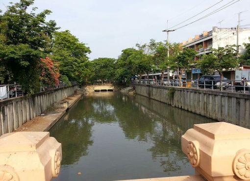 Canal (khlong) in Nakhon Pathom District