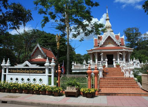 A temple in Nakhon Phanom