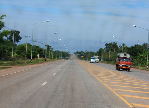 Highway 22 from Nakhon Phanom to Udon Thani