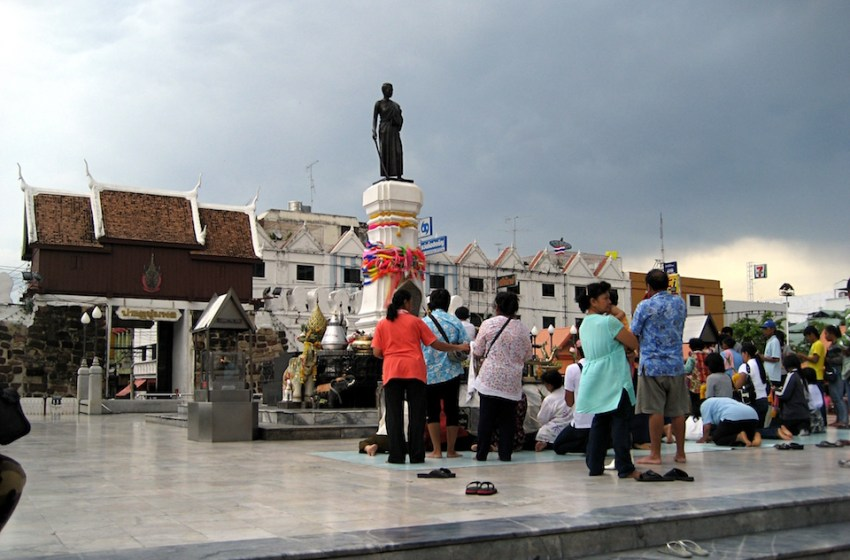 Thao Suranaree (Ya Mo) monument in Nakhon Ratchasima (Korat)