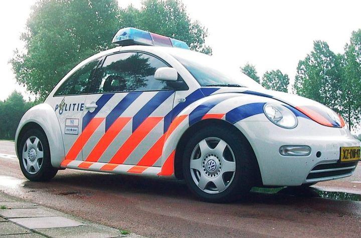 Dutch police (politie) car in Netherlands