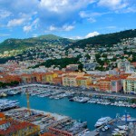 The port in Nice, France