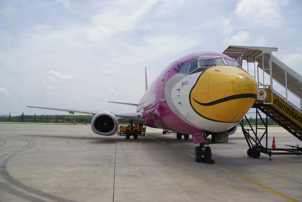 Nok Air bird at Krabi Airport