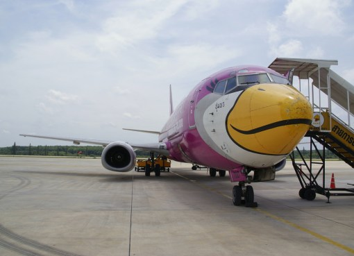 Nok Air bird at Krabi Airport
